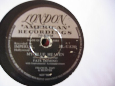 Fats Domino - My Blue Heaven - London Irish Pressing