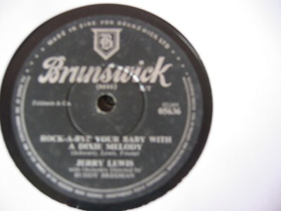 Jerry Lewis - Come rain or come shine - Brunswick Irish