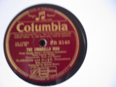 Flanagan & Allen - Umbrella Man - Columbia UK