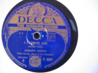 Johnny Green - Little bit on Lonely side - Decca UK