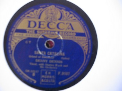 Denny Dennis - Blue Shadow on the Trail - Decca UK