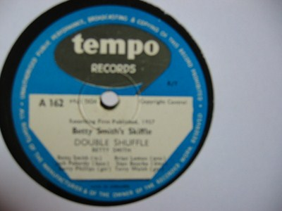 Betty Smith's Skiffle - Theres a blue ridge - Tempo Records UK