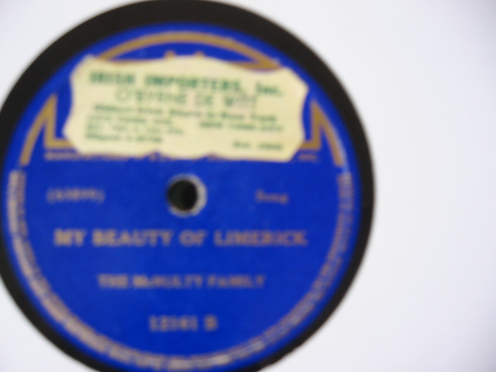 The McNulty Family - My beauty of Limerick - Decca USA