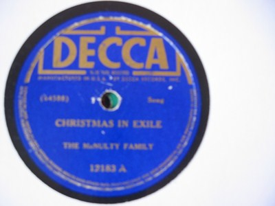 The McNulty Family - Christmas in exile - Decca USA