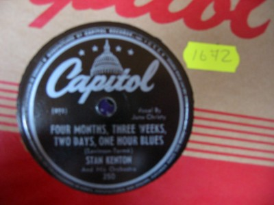 STAN KENTON - PAINTED RHYTHM - CAPITOL USA 250