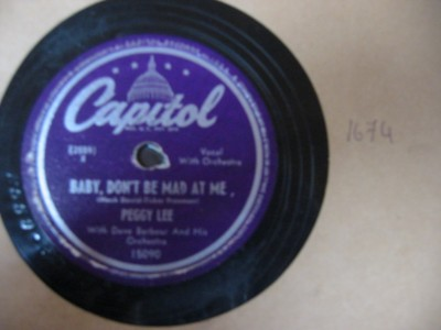 PEGGY LEE - CARAMBA SAMBA - CAPITOL USA 15090