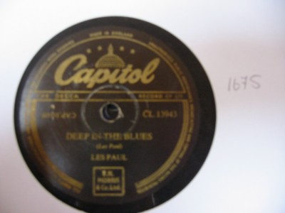 Les Paul & Mary Ford - Deep in the Blues - CAPITOL