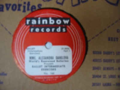 ALEXANDRA DANILOVA - BALLET EXERCISES - 2 RAINBOW RECORDS