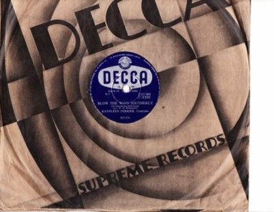 Kathleen Ferrier - Blow the wind Southerly - Decca Irish