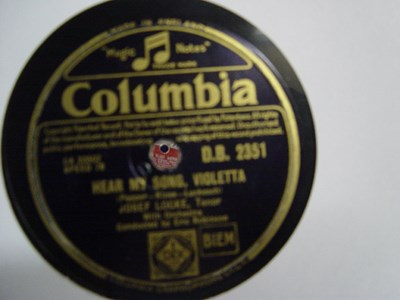 Josef Locke - I'll take you home Kathleen - Columbia DB 2531