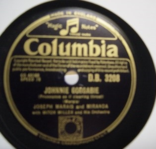 Joseph Marais & Miranda - The Zulu Warrior - Columbia DB 3208