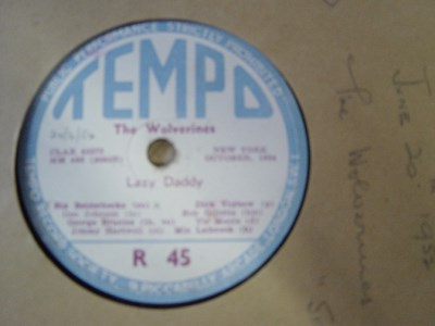 The Wolverines - Lazy Daddy - Tempo R 45 UK