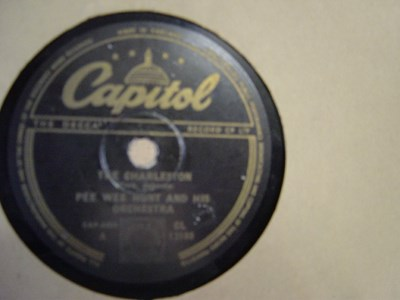 Pee Wee Hunt - The Charleston - Capitol CL.13188 UK