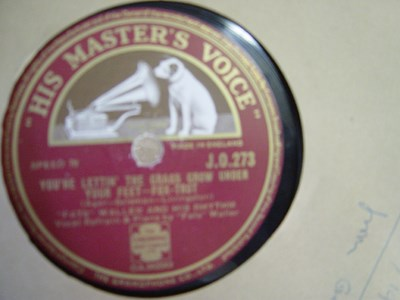 Fats Waller - I love to whistle - HMV J.O.273 UK