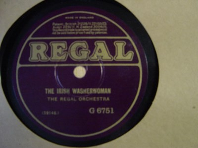 The Regal Orchestra - Miss McLeods Reel - Regal G.6751 UK