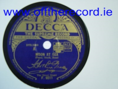 The Street Singer - Moon at Sea - Decca F.6511 UK