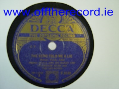 Primo Scala - The echo told me a lie - Decca F. 9133 UK