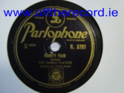The Cameo Players - Vanity Fair - Parlophone R.3797