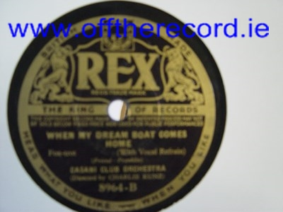 Casini Club Orchestra - Heres love in your eyes - Rex 8964