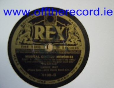 Laddie Ray Piano - Musical Comedy - Rex 8100
