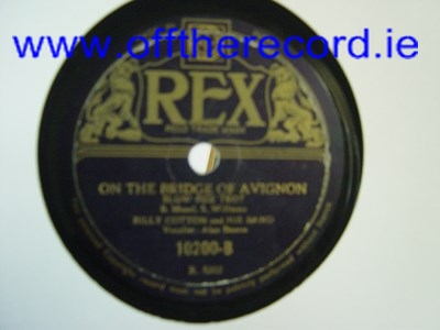 Billy Cotton - Dont say Nobody loves you- Rex 10200 India