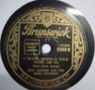 Dick Haymes - It cant be wrong - Brunswick 03488 UK