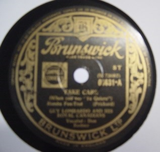 Guy Lombardo - Take Care - Brunswick 03631 UK
