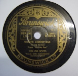 Ink Spots - White Christmas - Brunswick 03811 UK