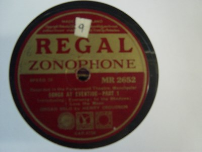 Henry Croudson Organ - Songs at Evetide - Regal MR 2562
