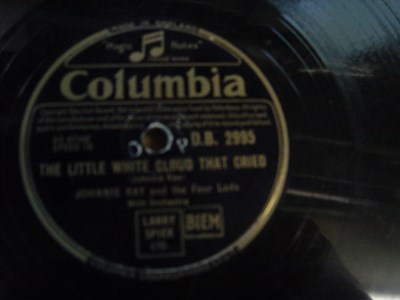 Johnnie Ray - Cry - Columbia DB 2995