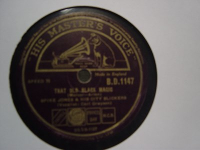 Spike Jones - That old black magic - HMV B.D. 1147 UK