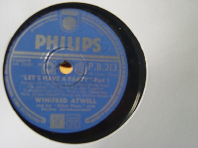 WINIFRED ATWELL - LETS HAVE A PARTY - PHILIPS