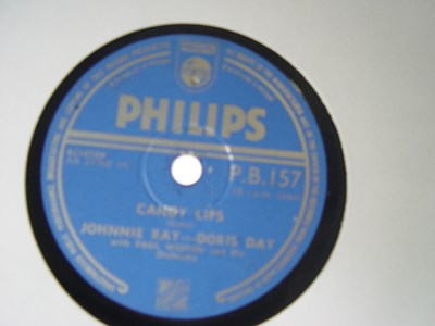 Doris Day & Johnnie Ray - Candy Lips - Philips PB 157 UK