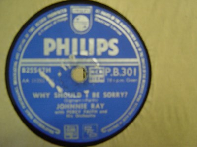 Johnnie Ray - Destiny - Philips P.B. 301