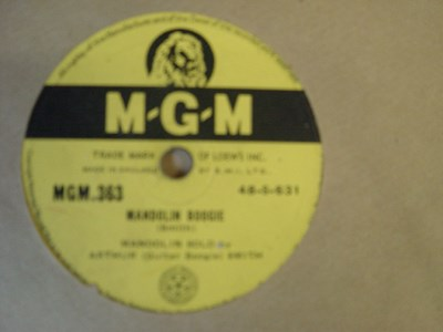 Arthur Guitar Boogie Smith - The Memphis Blues - MGM 382