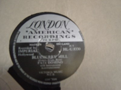 Fats Domino - Blueberry Hill - London HL -U 8330