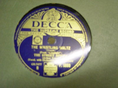 The Street Singer - Farewell sweet senorita - Decca F.5880 UK