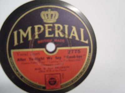 Bob & Alf Pearson - After tonight we say Goodbye - Imperial 2775