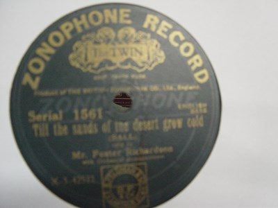Foster Richardson - Cheer up little soldier Man - Zonophone 1561