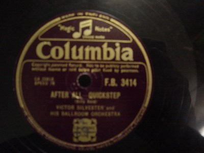 Victor Silvester - After All l - Columbia F.B.3414 UK