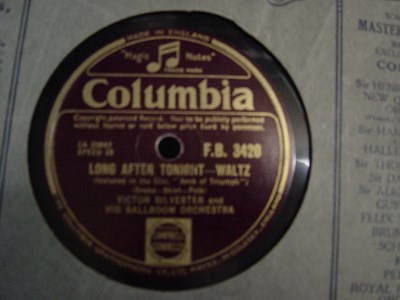 Victor Silvester - Long after tonight - Columbia F.B.3420 UK
