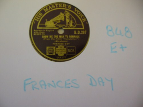 FRANCES DAY - What is this Thing - HMV UK - 848