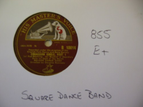 SQUARE DANCE BAND - HMV UK - 855