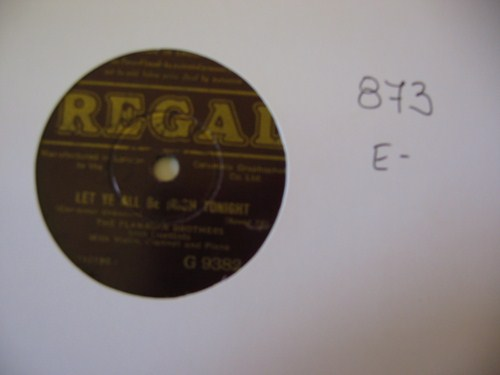FLANAGAN BROTHERS - REGAL UK - 873