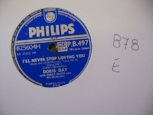DORIS DAY - Ten Cents a Dance - PHILIPS UK - 878
