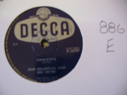 BOB SHARPLES - Concetta - DECCA UK - 886