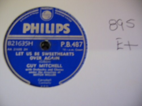 GUY MITCHELL - PHILIPS PB 487 UK - 895