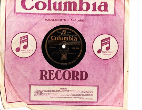 Ray Martin - Blue Tango - Columbia Irish IDB.358