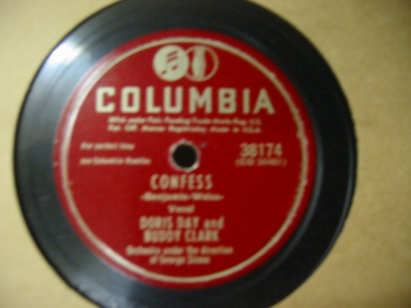 BUDDY CLARK DORIS DAY COLUMBIA 38174 E # 546