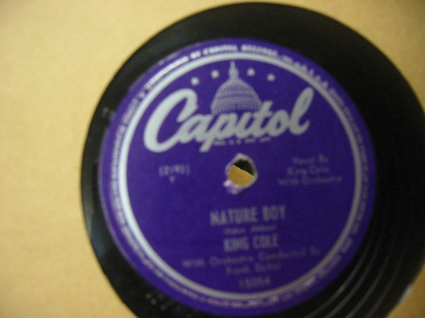 KING COLE TRIO CAPITOL 15054 E+ # 547